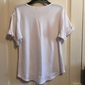 Cato Tops - Cato a line t shirt with embroidery like new!!!